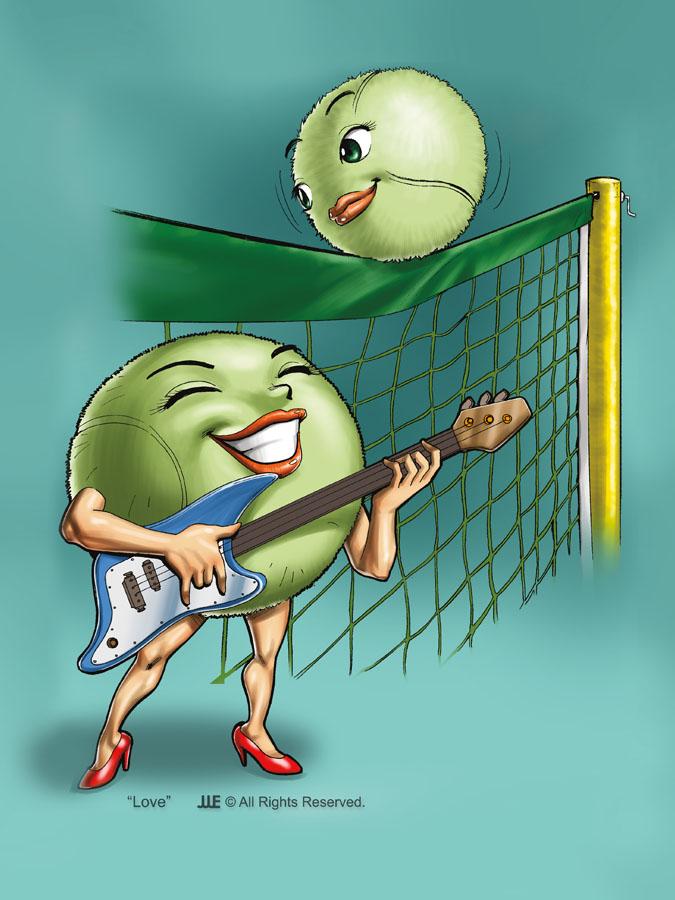 Love the Tennis Ball
