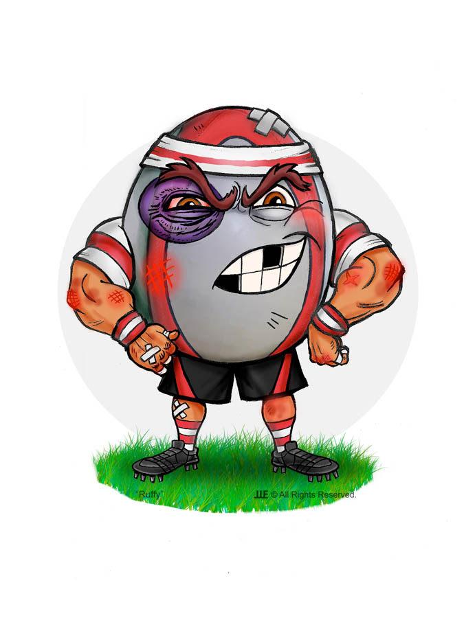 Ruffy the Rugby Ball