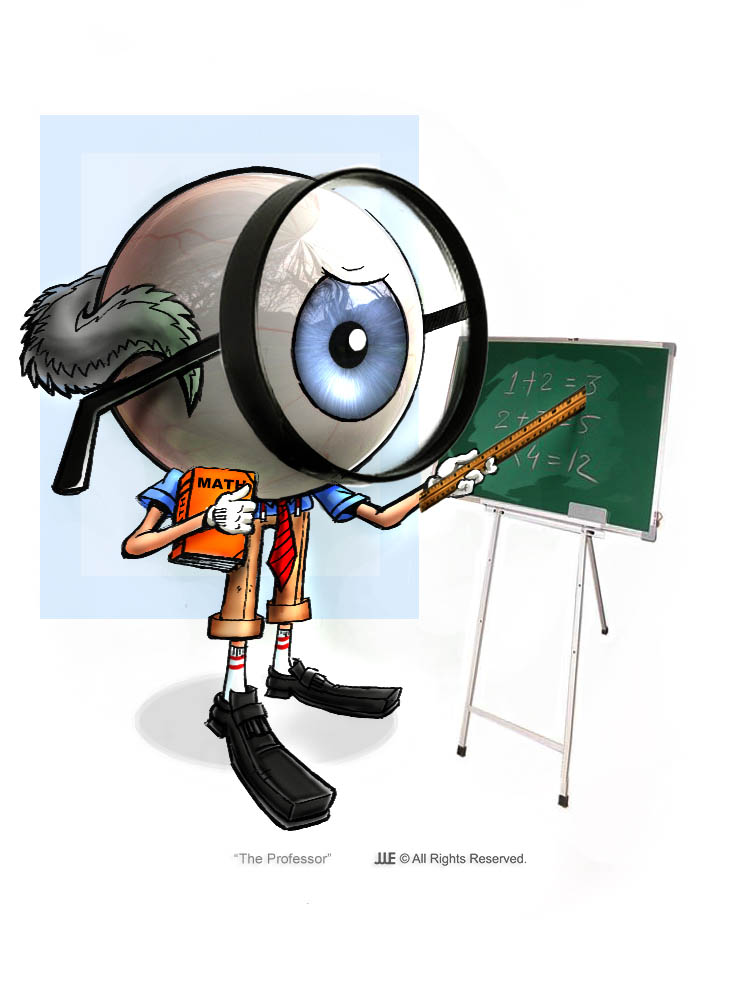 The Professor the Eye Ball